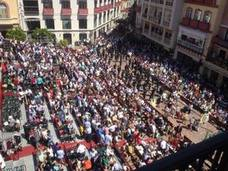 Casi seis mil personas aspiran a los abonos disponibles en el recorrido oficial de las procesiones de Málaga