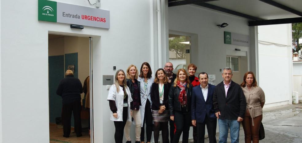 El centro de salud Estepona Oeste estrena nuevos accesos y áreas en las urgencias
