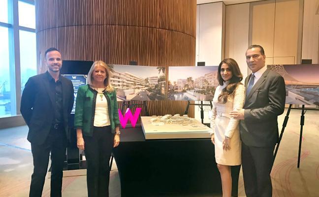 El grupo inversor Platinum mantiene para 2021 la fecha de apertura del hotel W