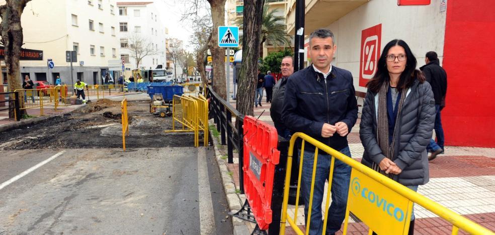 El PSOE de Marbella reclama que se retome su proyecto de remodelación de Avenida del Trapiche