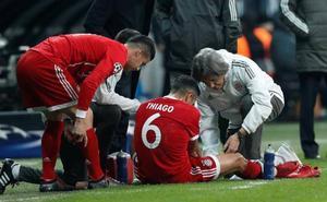 Thiago, gol y lesión en el trámite ante el Besiktas