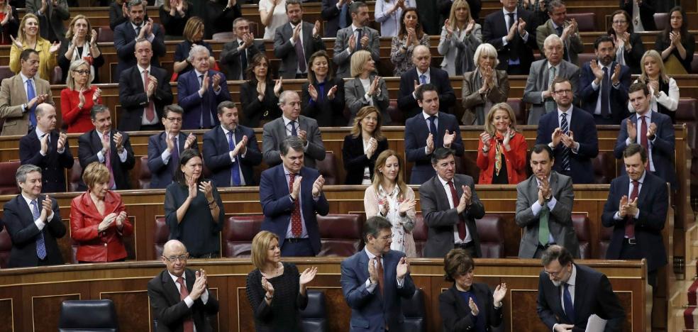 Rajoy condiciona elevar las pensiones mínimas al éxito de los Presupuestos