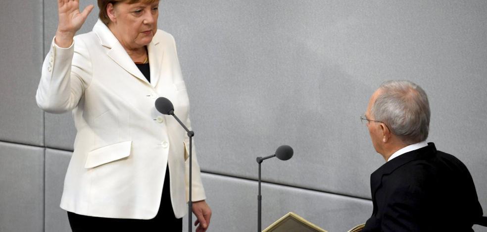 Merkel toma las riendas de su cuarta legislatura