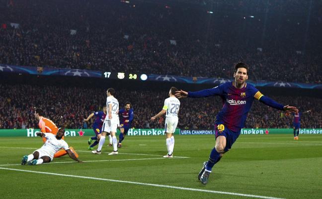 Recital de papá Messi en el Camp Nou