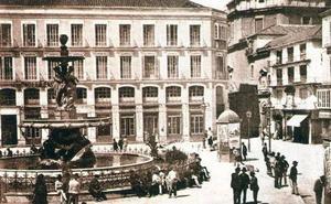 Cuando la cárcel de Málaga estaba en la plaza de la Constitución