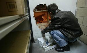 Cae en Málaga una banda especializada en robos en cajas fuertes mediante butrones
