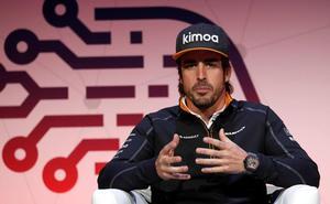 Fernando Alonso: «Va a ser un año duro para mi con Fórmula 1 y WEC, pero es un sueño»