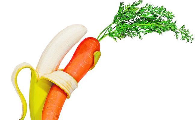 La fruta, mejor desnuda