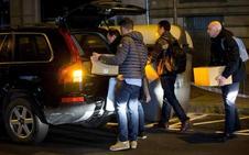 La Guardia Civil registra durante más de diez horas la sede de Òmnium Cultural