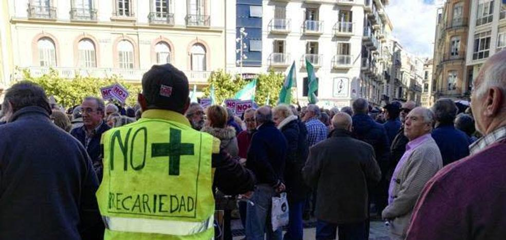 Los sindicatos se suman a la concentración de mañana en Málaga en defensa de las pensiones