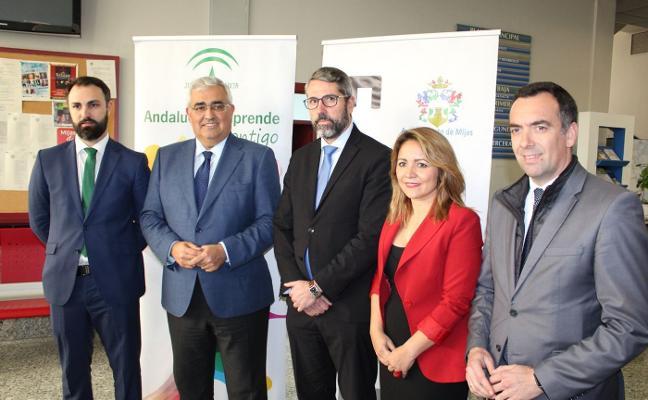 Junta y Ayuntamiento acuerdan financiar una nueva incubadora de empresas en Mijas