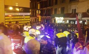 La Policía establece núcleos de reacción para actuar ante posibles estampidas en Semana Santa