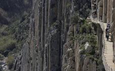 El Caminito del Rey recibe el certificado de recurso turístico sostenible