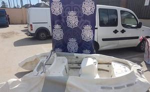 Tres detenidos en Mijas por el robo de una embarcación en Marbella