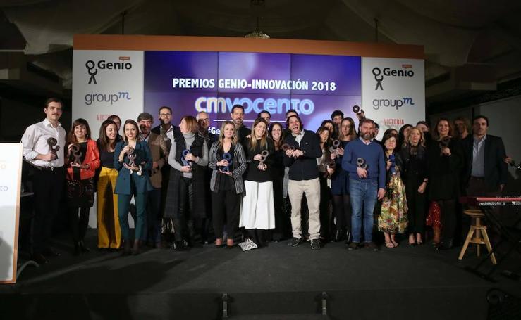 Los Premios Genio de Vocento unen en Málaga la innovación y la cultura