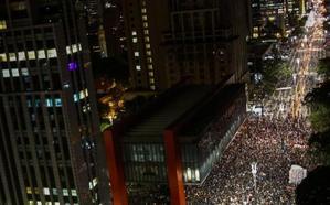 Estupor en Brasil por la muerte a tiros de una concejal en plena calle