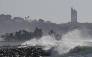 Meteorología activa avisos por lluvia y viento este fin de semana en Málaga