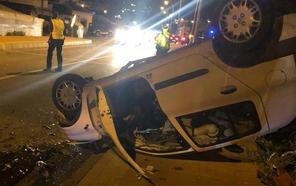 Un herido grave en un accidente con tres vehículos implicados en Torrox