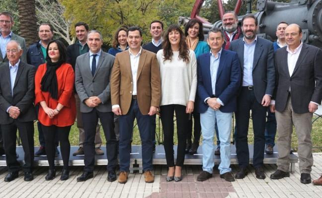 Juanma Moreno exhibe unidad y fortaleza electoral