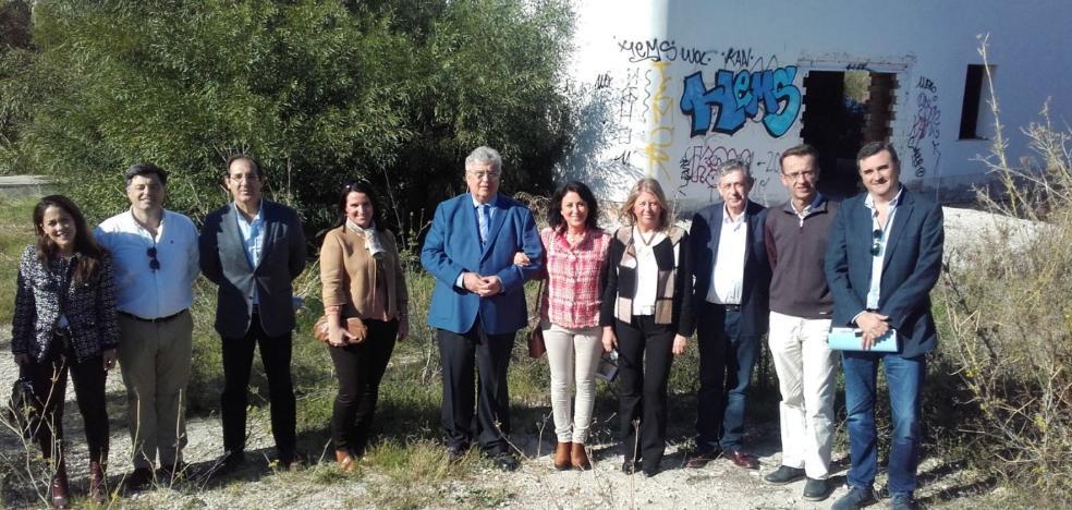 La alcaldesa valora como «lo más difícil» el consenso alcanzado para el proyecto de la Ciudad de la Justicia