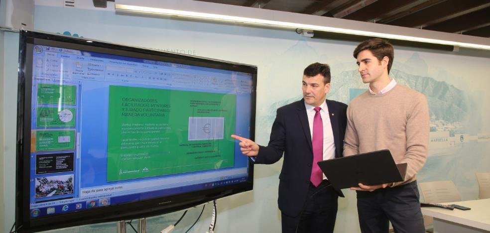 Marbella impulsa una cita donde los participantes iniciarán un proyecto digital en 54 horas