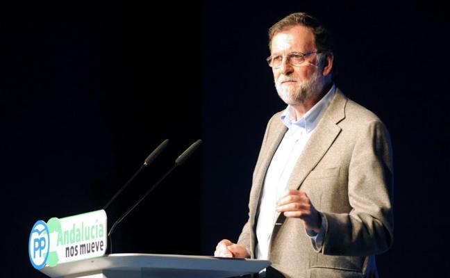 Mariano Rajoy, en Marbella: «Las pensiones subirán seguro, pero lo que podamos»