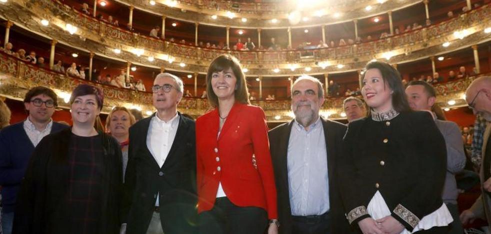 El eurodiputado Ramón Jáuregui anuncia en Bilbao su decisión de abandonar la política