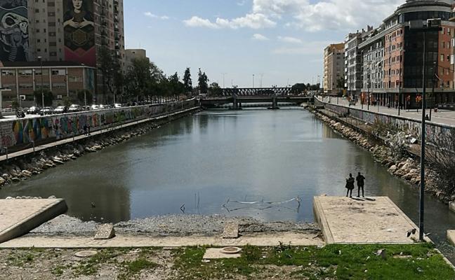 Río Guadalmedina: vuelven los malos olores