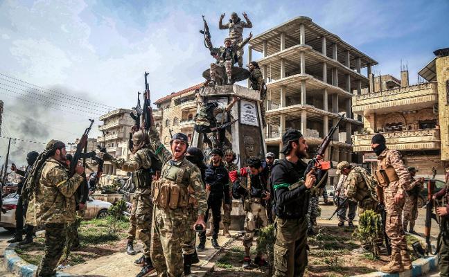 Turquía arrebata a Siria el cantón kurdo de Afrín