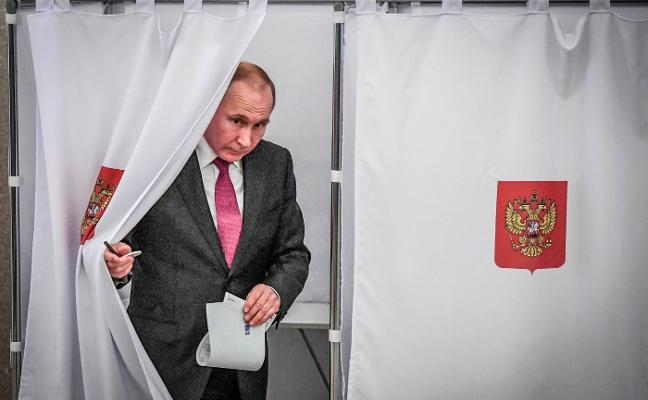 Putin llevará el timón de Rusia seis años más
