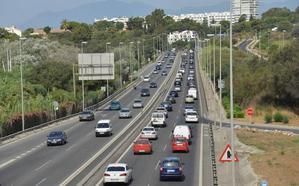Fomento saca a información pública el proyecto para la mejora de la autovía en Marbella