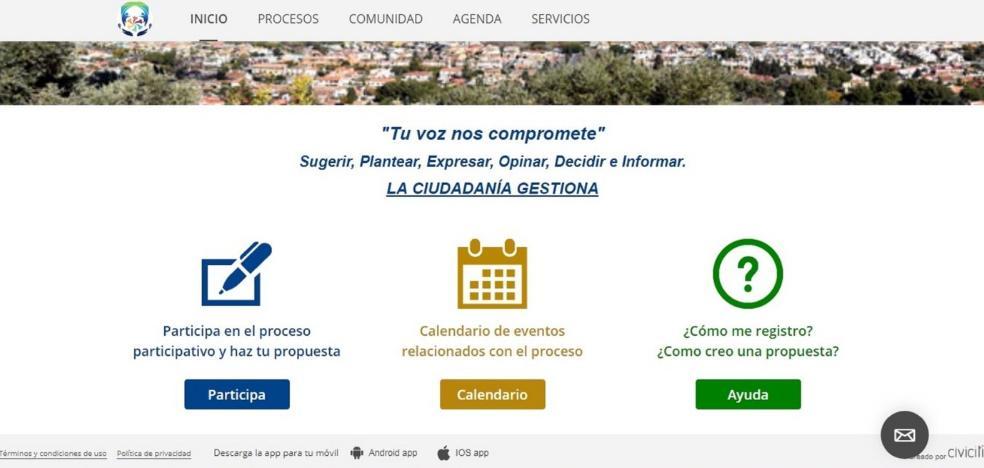 Alhaurín de la Torre lanza una plataforma digital para la participación vecinal