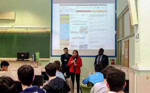 Unicaja colabora con proyecto 'GuíaMe' y acerca el mundo financiero a estudiantes con altas capacidades