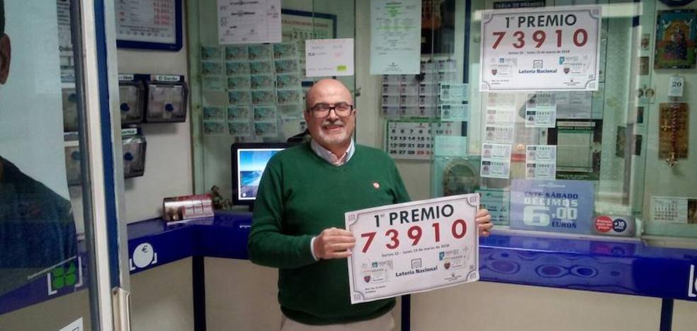 El sorteo extraordinario del día del padre de la Lotería Nacional reparte 1,3 millones de euros en Archidona