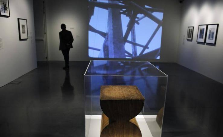 Fotos de la exposición de Constantin Brancusi en el Pompidou
