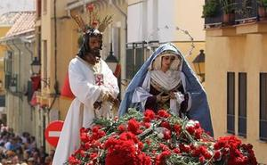 El Cautivo pide que no se le lancen claveles al Cristo durante el traslado