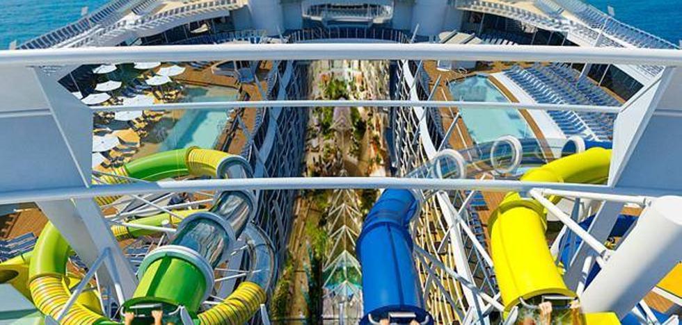El lanzamiento mundial del crucero 'Symphony of the Seas' coloca a Málaga como destino de los gigantes del mar