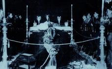 Así fue el último desfile de La Legión con el antiguo Cristo de Mena en 1931