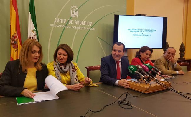 Málaga pone en marcha un protocolo pionero para víctimas de agresiones sexuales