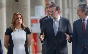 Rajoy, Susana Díaz, Zoido y Sanz lamentan la muerte del guardia civil malagueño