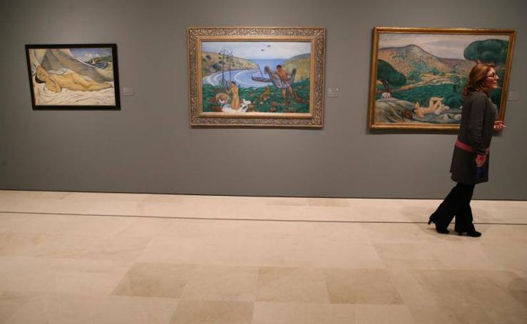 Fotos de la gran exposición en el Museo Thyssen de Málaga sobre el Mediterráneo
