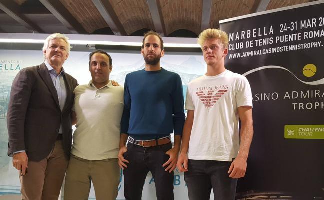 El Casino Admiral Trophy reunirá en Marbella a tenistas de muchos quilates