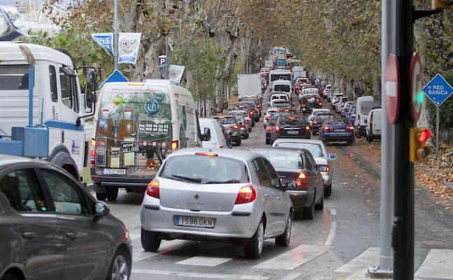Así quedará regulado el tráfico en el Centro durante la Semana Santa de Málaga