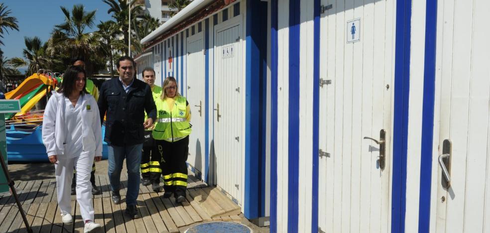 Marbella activará este sábado el servicio de salvamento en las playas