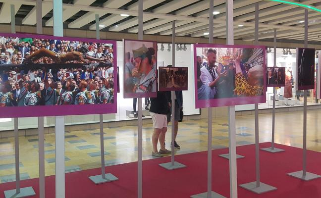 Exposición en Larios Centro