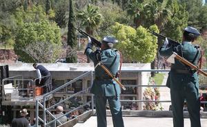 Málaga despide al guardia civil Diego Díaz