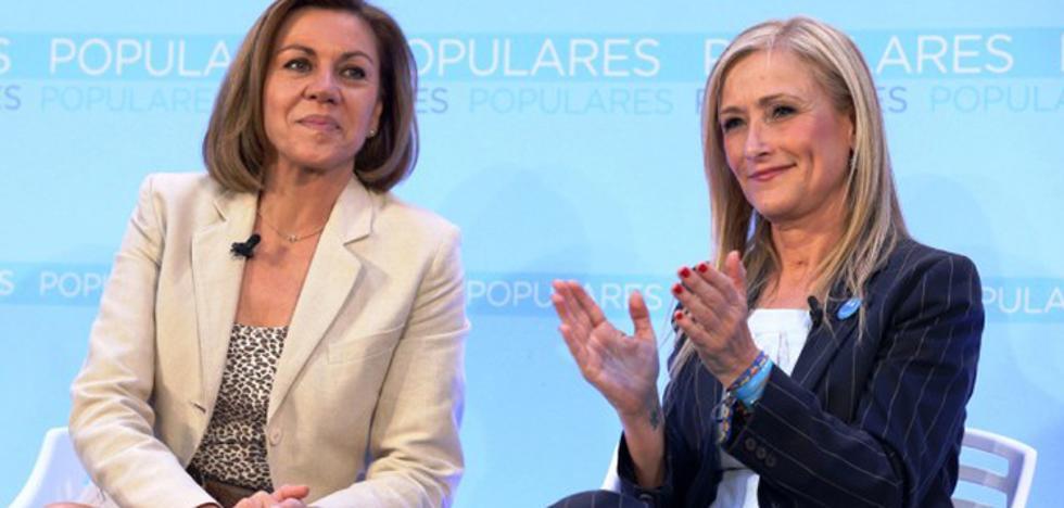 Cospedal revoluciona Twitter en su defensa a Cristina Cifuentes
