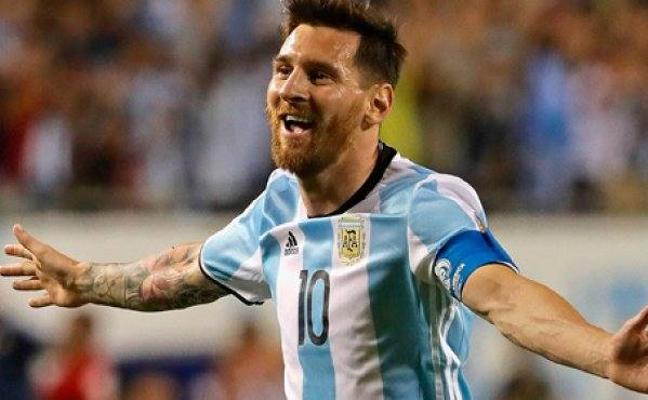 Messi, duda para el amistoso ante Italia
