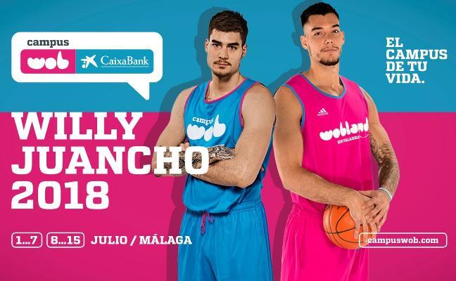 Willy y Juancho Hernangómez, las estrellas del Campus WOB CaixaBank