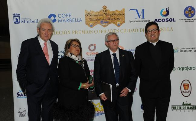 Luis del Olmo, Premio Nazareno del Año de Honor de Cope Marbella